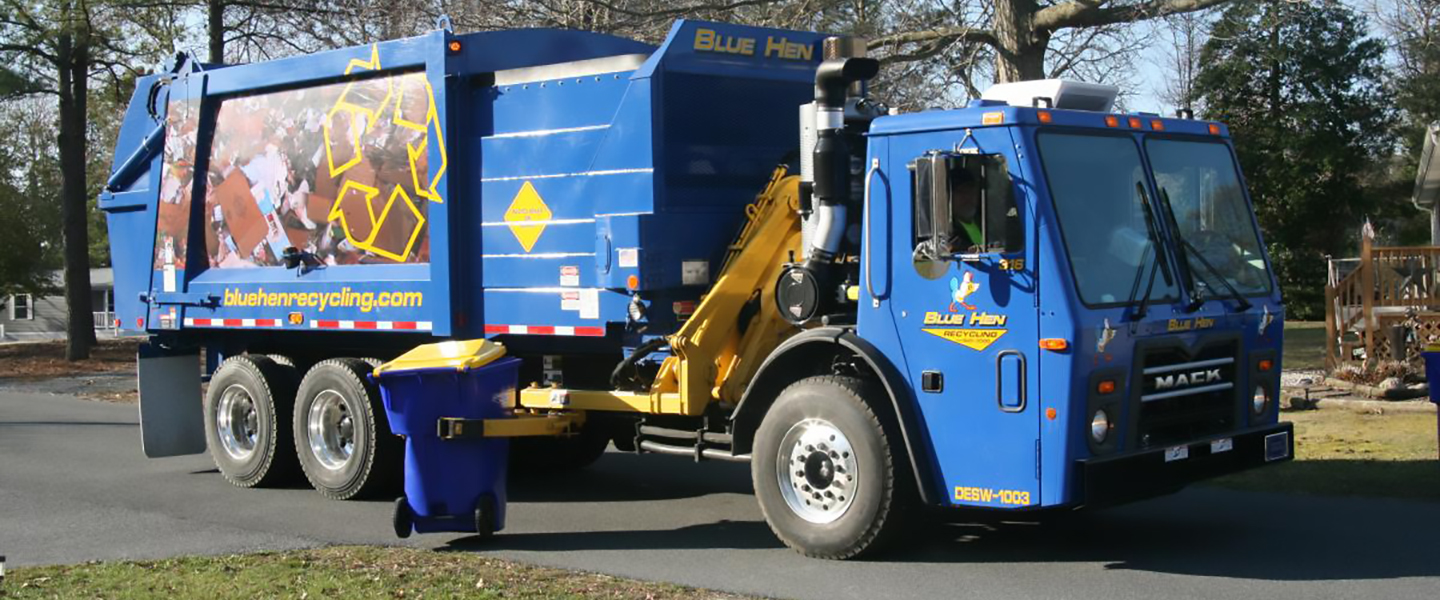 Southern Delaware Recycling provided by Blue Hen Disposal