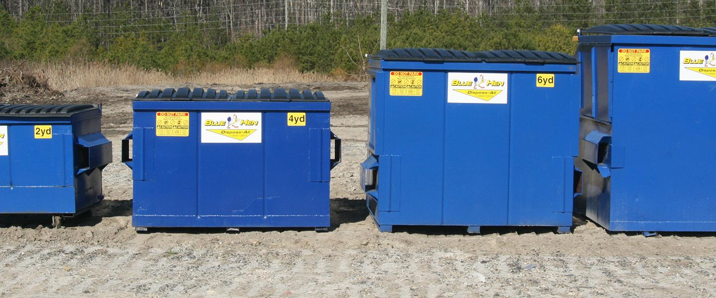 Blue Hen Disposal Dependable Solid Waste Service In